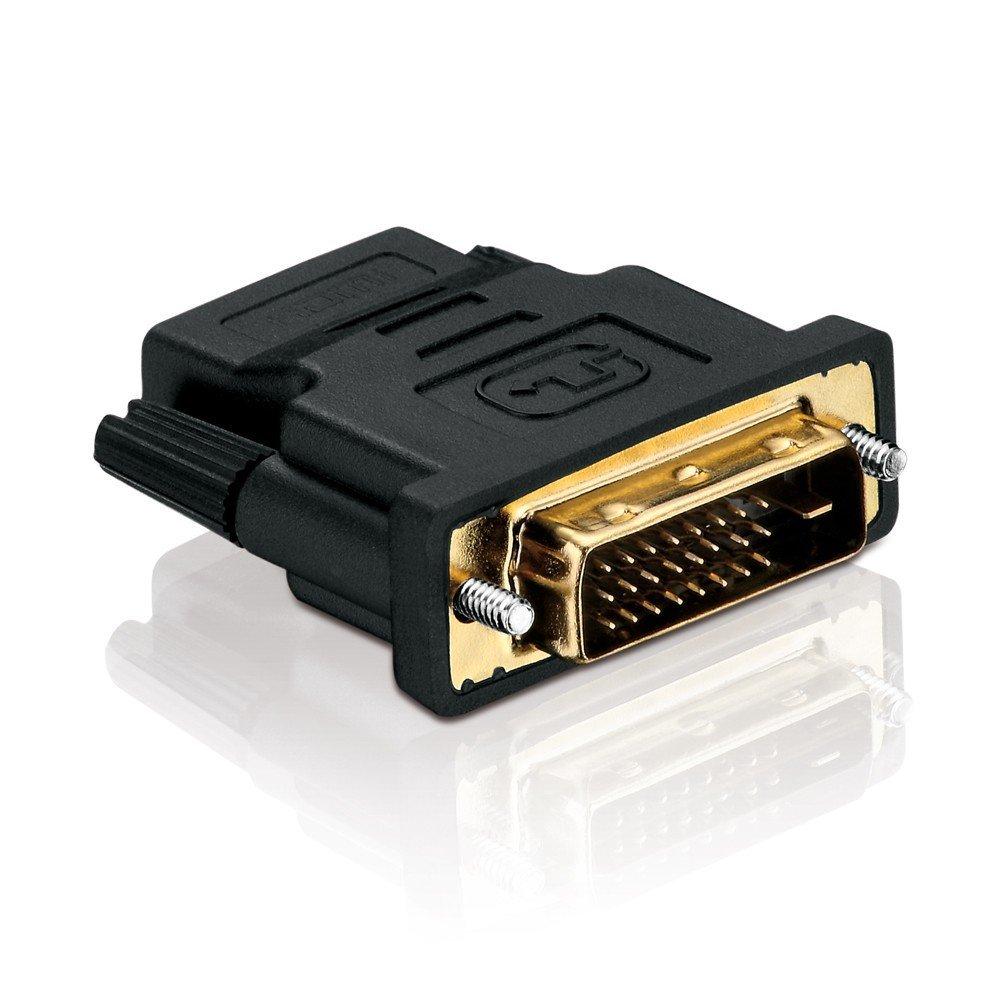 purelink adapter 19 polig hdmi buchse auf dvi 24 1 stecker audio video. Black Bedroom Furniture Sets. Home Design Ideas