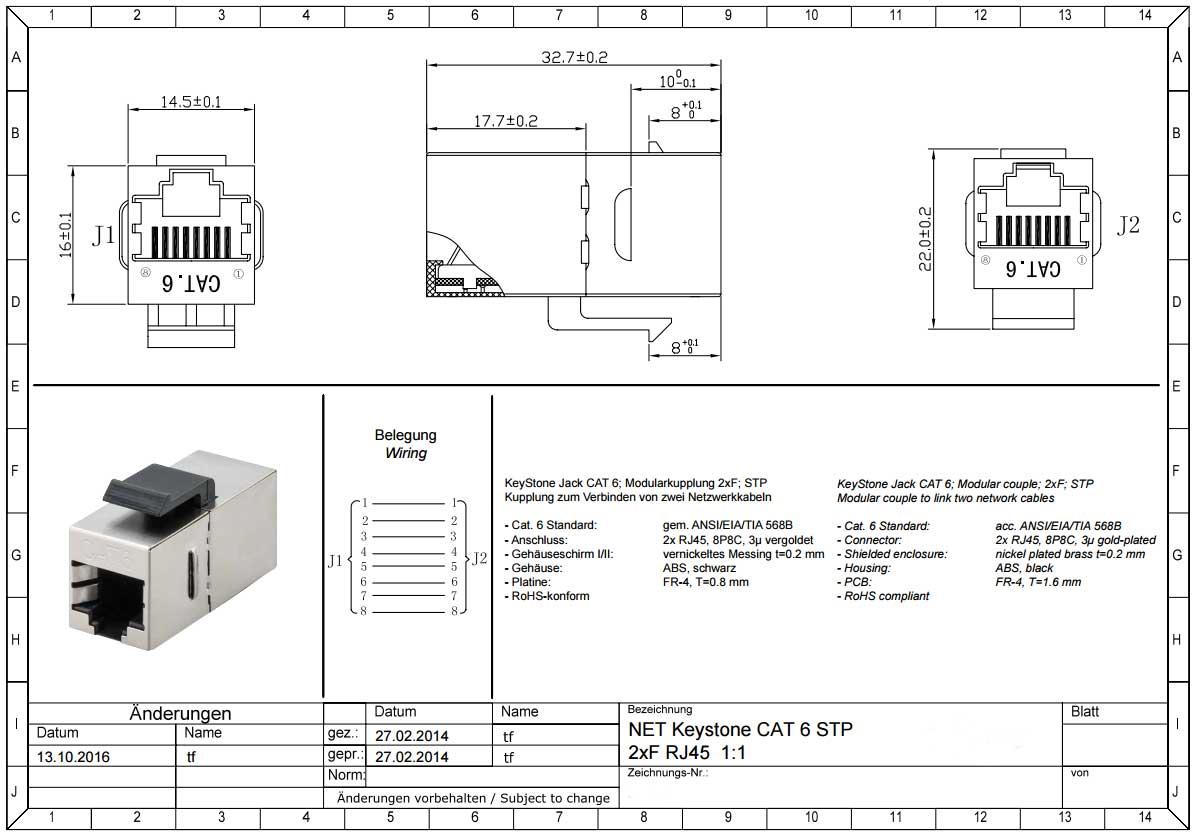 Ausgezeichnet Rj11 Verdrahtung Standard Diagramm Zeitgenössisch ...