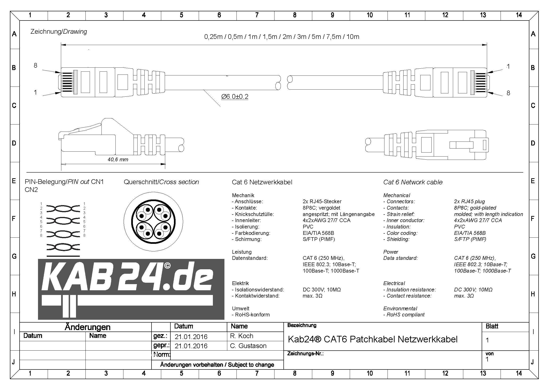 kab24 cat6 patchkabel netzwerkkabel transparent s ftp. Black Bedroom Furniture Sets. Home Design Ideas