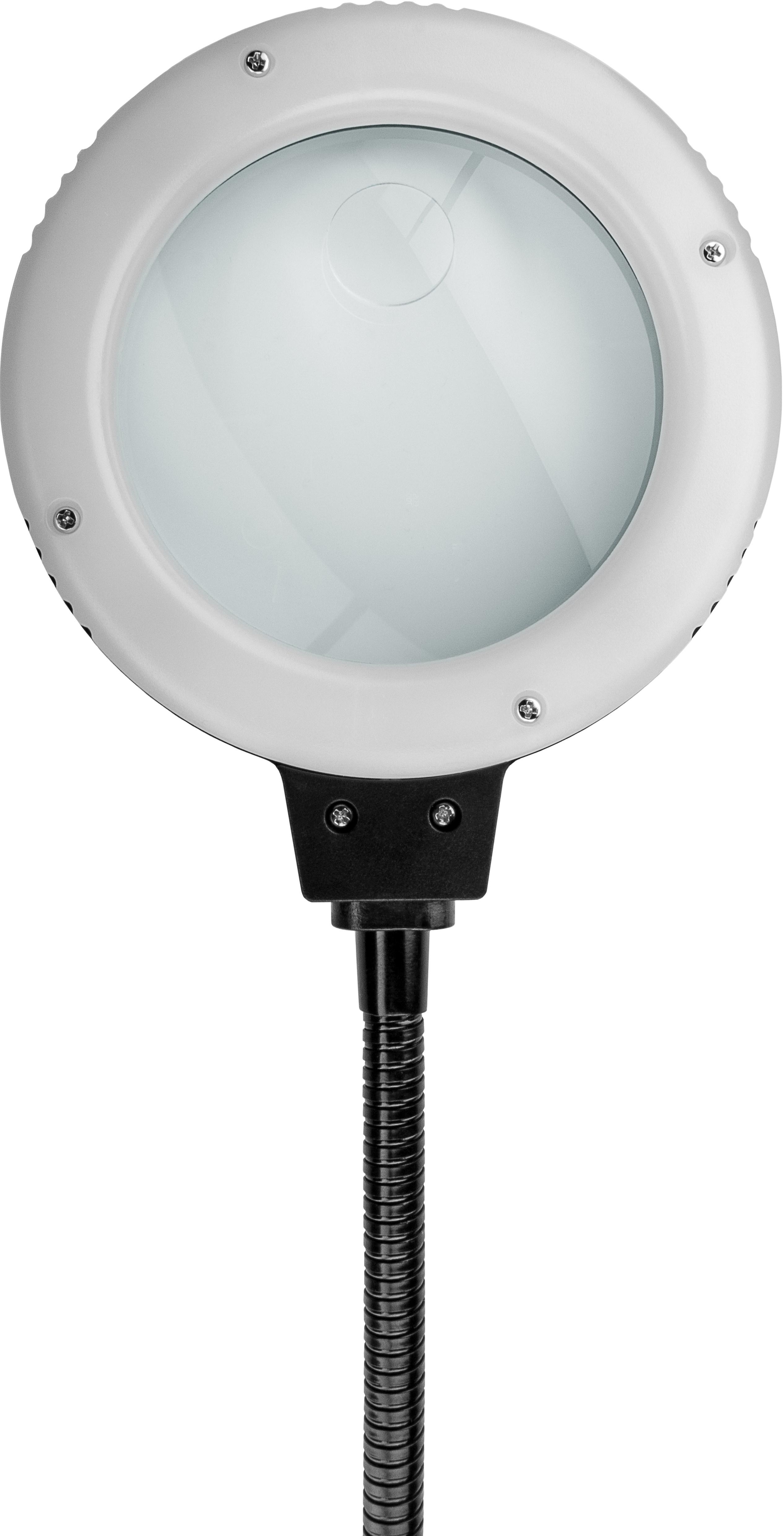 Löthilfe mit LED-Lampe Schwanenhals-Krokodilklemme Lupe mit LED Lampe