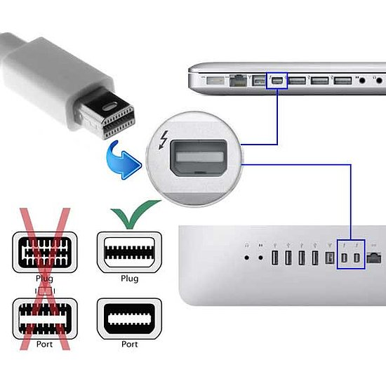 Bild 3 - Kab24® Mini Displayport zu HDMI Adapterkabel 1080p inkl. Audio