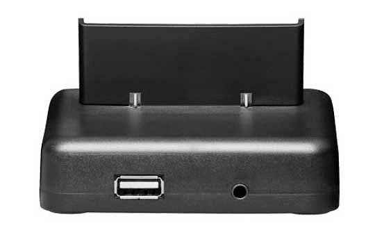 USB Dockingstation (schwarz) für iPhone 4 (Kommunikation) - kab24.de
