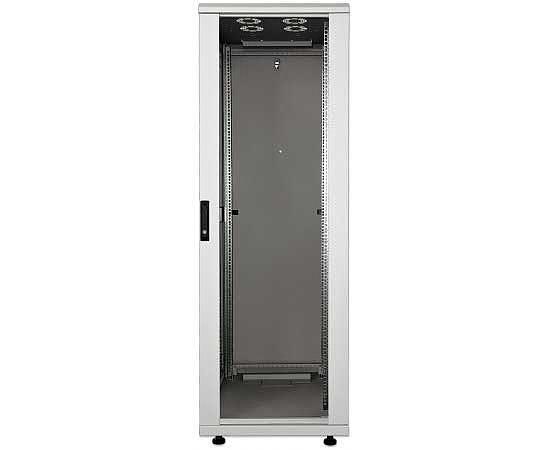 kab24 netzwerkschrank serverschrank 19 zoll 42 he grau h 205 7 x b 80 x t 80cm netzwerk. Black Bedroom Furniture Sets. Home Design Ideas