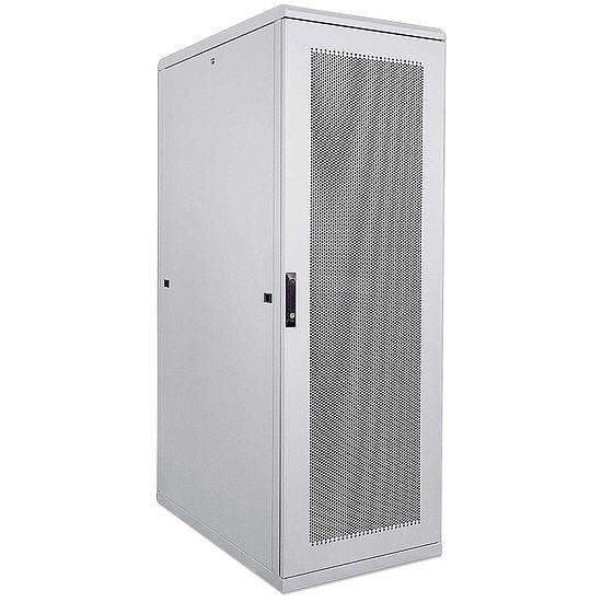 kab24 netzwerkschrank serverschrank 19 zoll 42 he grau h 205 7 x b 80 x t 100cm netzwerk. Black Bedroom Furniture Sets. Home Design Ideas