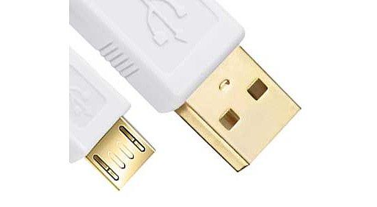 Kab24® USB 2.0 Premium HighSpeed Kabel A Stecker auf Micro Stecker ...