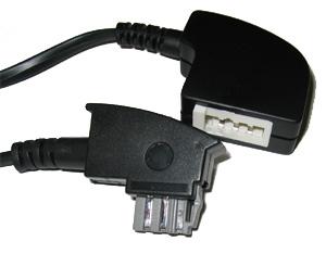 TAE-N Verlängerungskabel 4 - adrig schwarz (Kommunikation) - kab24.de