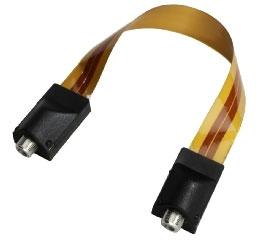 fensterdurchf hrung f r koax kabel super slim line 20cm tv sat. Black Bedroom Furniture Sets. Home Design Ideas