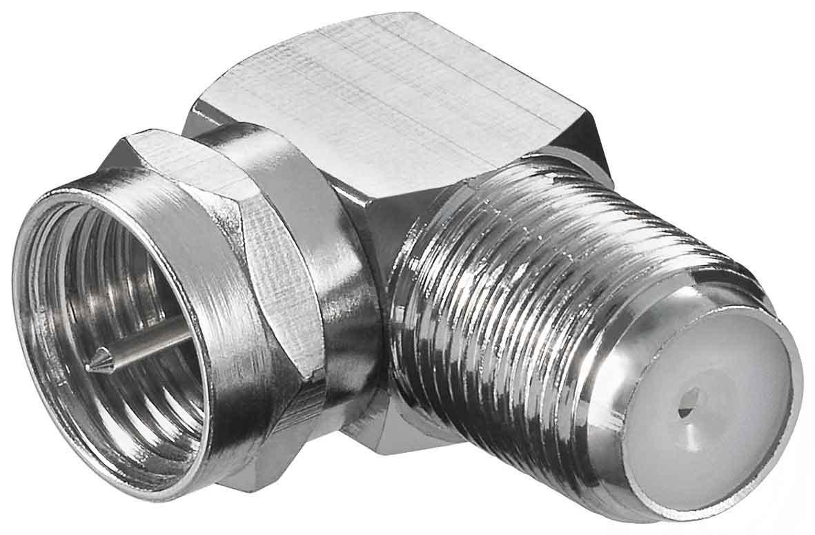 Cabelcon F Verbinder Buchse auf Buchse SAT F-Stecker Adapter 75 Ohm F-Kupplung