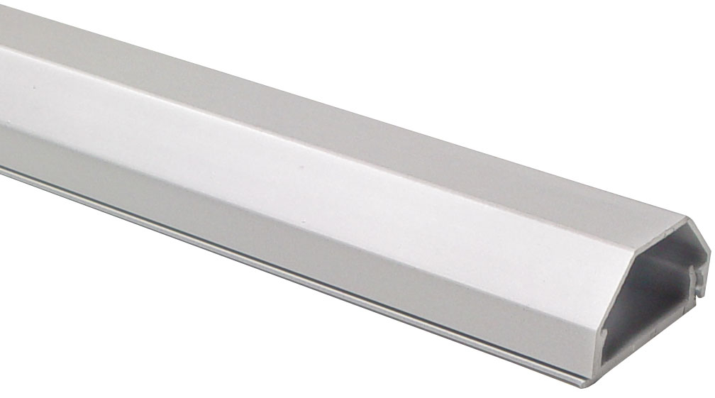 aluminium kabelkanal silber eloxiert 33 mm werkstatt. Black Bedroom Furniture Sets. Home Design Ideas