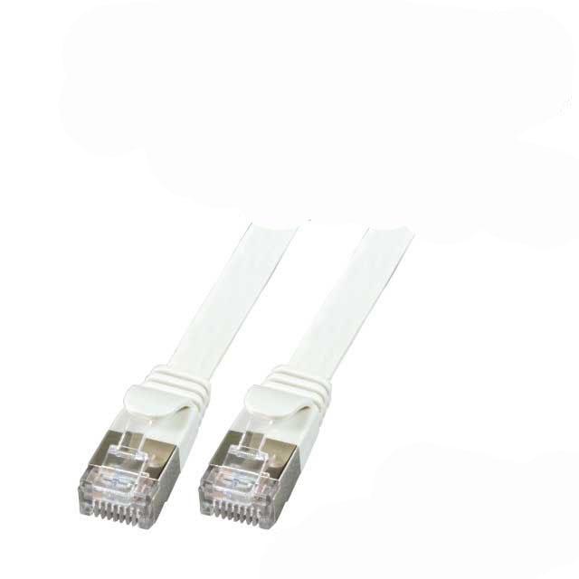 kab cata flachkabel geschirmt uftp grau netzwerkkabel
