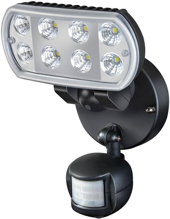 Brennenstuhl 1178530 Hochleistungs Led Leuchte Mit Bewegungsmelder