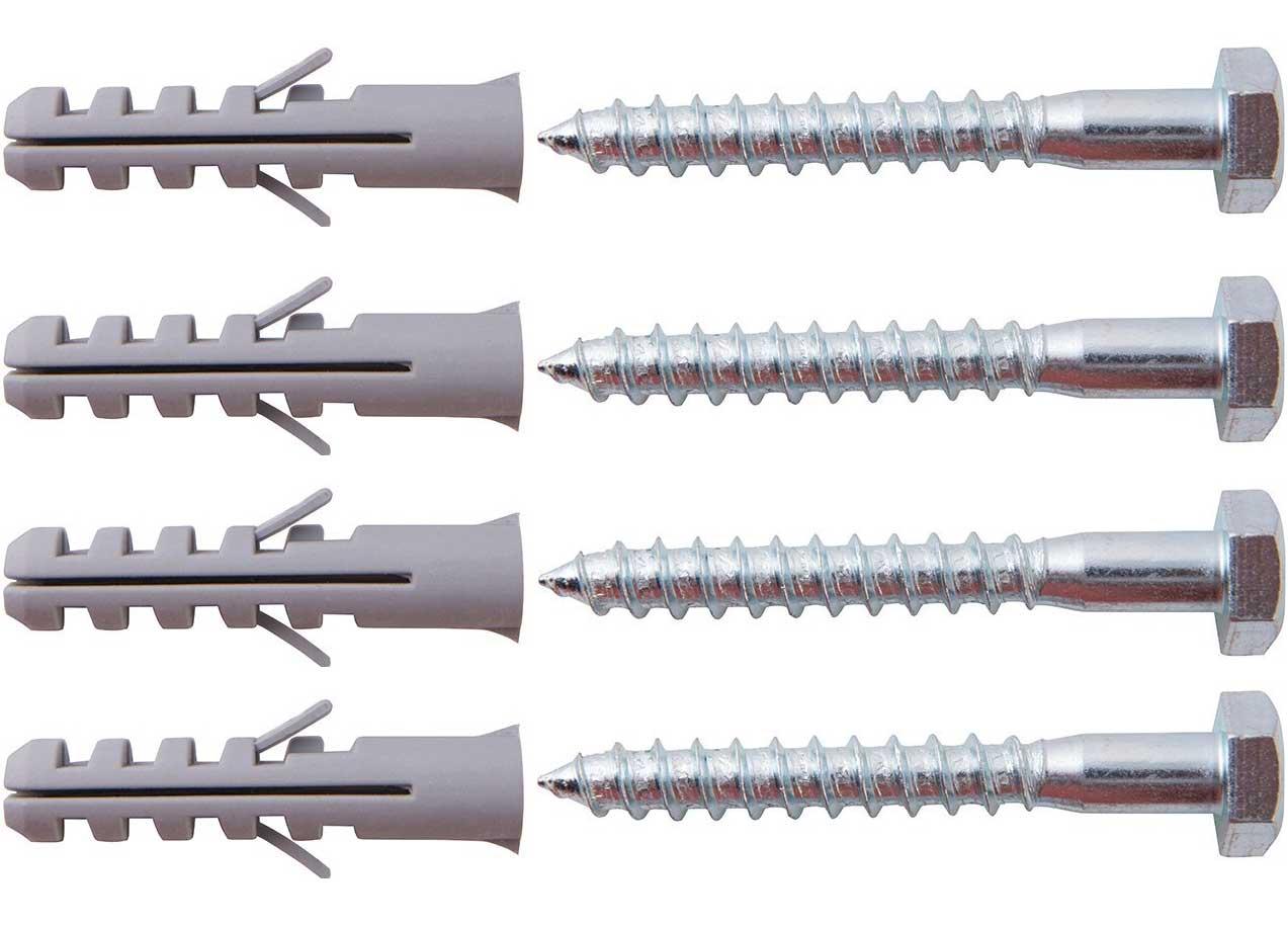 Fabulous Befestigungskit für SAT Wandhalterung 4 M10 x 80 Schrauben inkl QS61