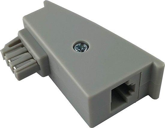adapter tae f stecker auf rj45 buchse kommunikation. Black Bedroom Furniture Sets. Home Design Ideas
