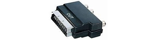 Bild 1 - Scartadapter Scart auf 3 x Cinch OUT