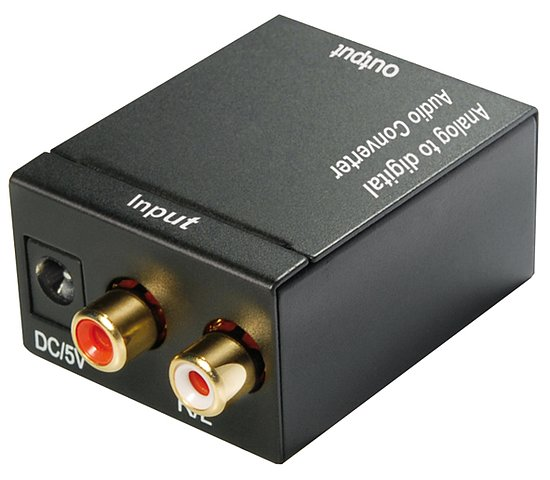 Bild 1 - Audio Wandler analog / digital Cinch / Optisch / Toslink SPDIF