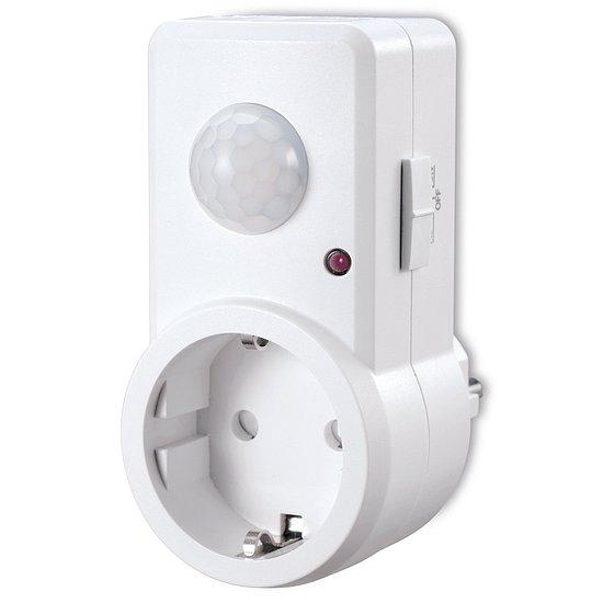 sonero bewegungsmelder steckdose x ims 060 erfassungswinkel 120 ip20 wei infrarot sensor. Black Bedroom Furniture Sets. Home Design Ideas