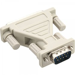 AT-Adapter, 9pol Sub D Stecker an 25pol Sub D Stecker