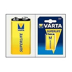 Varta Superlife 9V E-Block 2022 ohne Quecksilber