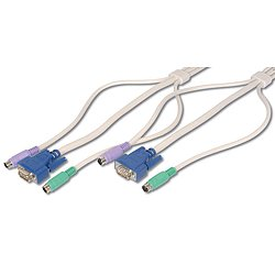 Octopus Kabel, VGA, PS/2 Mouse KB