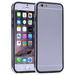 Bumper Iphone 6 grau-transparent 4,7 Zoll