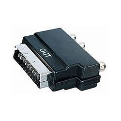 Scartadapter Scart auf 3 x Cinch OUT