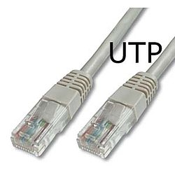 CAT5e UTP Patchkabel grau