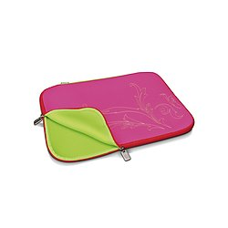 Digitus Slimbag candy threat, pink/red, (15,4 Zoll) DA-10505