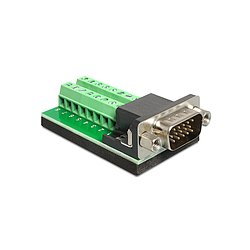 Adapter VGA Stecker an Terminalblock 16 Pin