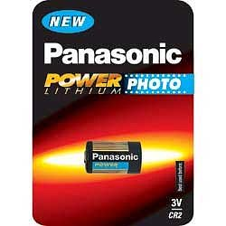 CR2 Photobatterie, Panasonic, 3V, 750mAh