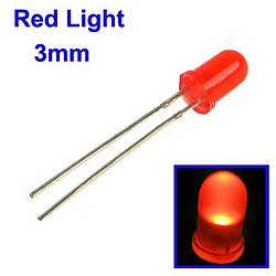 LED 3mm rot