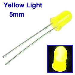 LED 5mm gelb