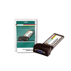 DIGITUS 2-Port RS 232 ExpressCard DS-31205