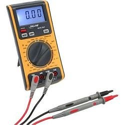 InLine® 3 in 1 Multimeter Kabeltester RJ45 RJ11 Batterietester