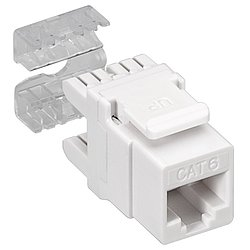 KeyStone Jack CAT 6 RJ45, LSA, UTP, SNAP-IN